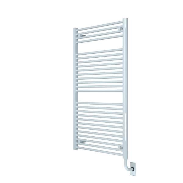 """W1061 - Tuzio Savoy 29.5"""" x 47.5"""" Towel Warmer - White"""
