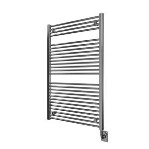 "W1063 - Tuzio Savoy 29.5"" x 47.5"" Towel Warmer - Chrome"