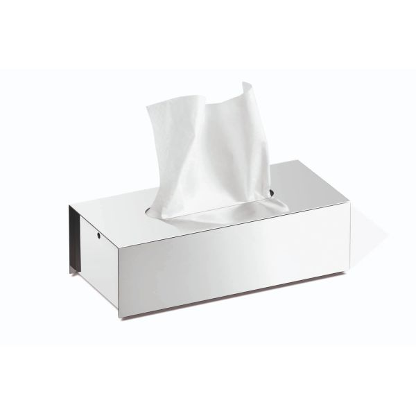 Z40093 Tissue Box Chrome