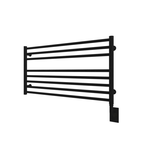 "W4605 - Tuzio Sorano 35.5"" x 19"" Towel Warmer - Matte Black"