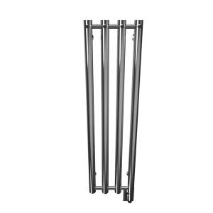 "W8103 - Tuzio Rosendal 10.5"" x 37.5"" Towel Warmer - Chrome"