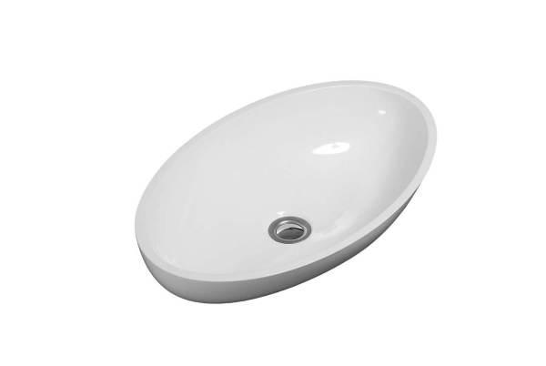 B9711 - Calma Puccini Vessel Sink - White
