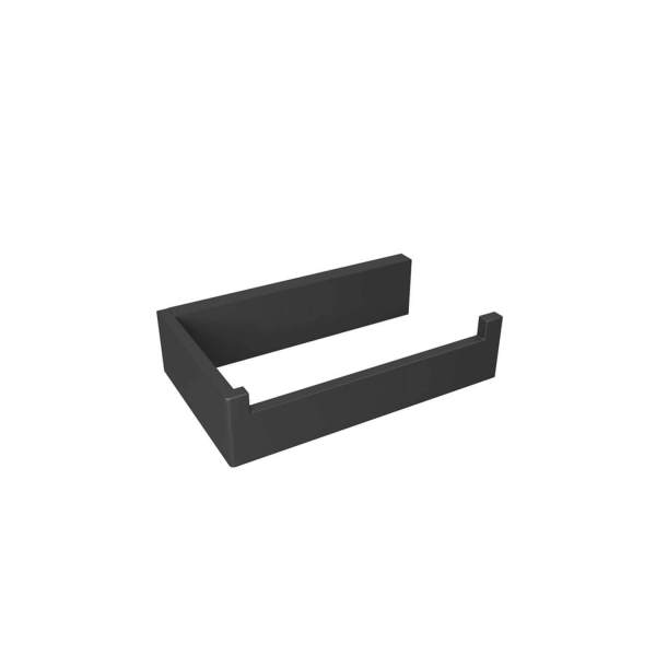 V1015 - Volkano Erupt Toilet Paper Holder - Matte Black