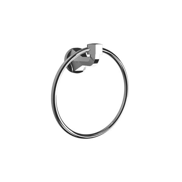 V2313 - Volkano Magma Towel Ring - Chrome