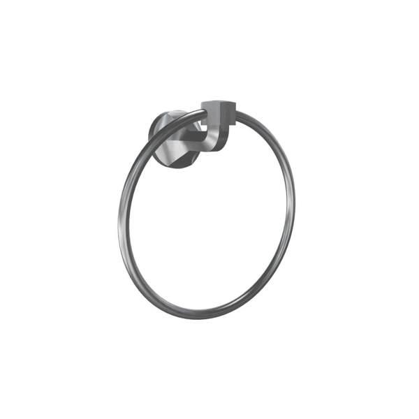 V2314 - Volkano Magma Towel Ring - Brushed Nickel