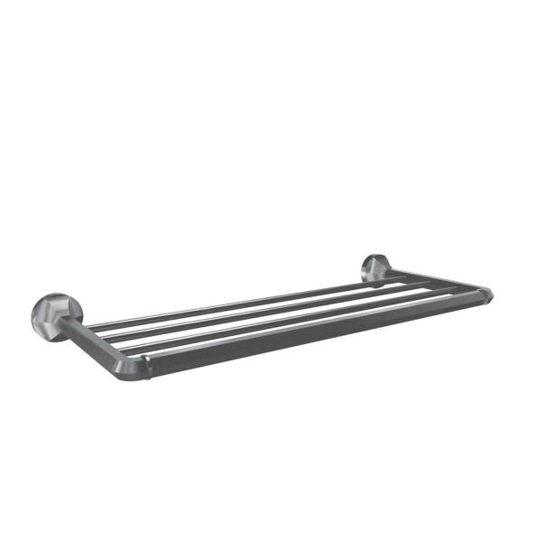 V2714 - Volkano Magma Towel Shelf - Brushed Nickel