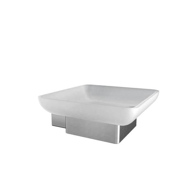 V3514 - Volkano Cinder Soap Dish - Brushed Nickel