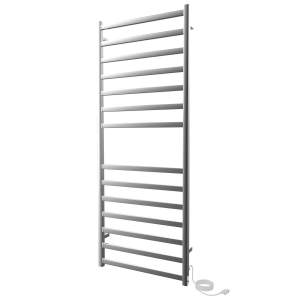 "K6053E - Kontour Square 24"" x 60"" Electric Plugin Towel Warmer in Chrome"