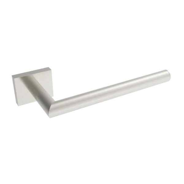 "V62314 - Volkano Crater 8"" Towel Bar - Brushed Nickel"