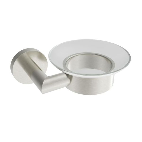 V63514 - Volkano Summit Soap Dish - Brushed Nickel