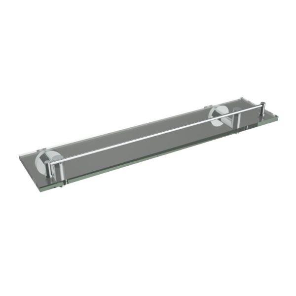 V63763 - Volkano Summit Glass Shelf - Chrome