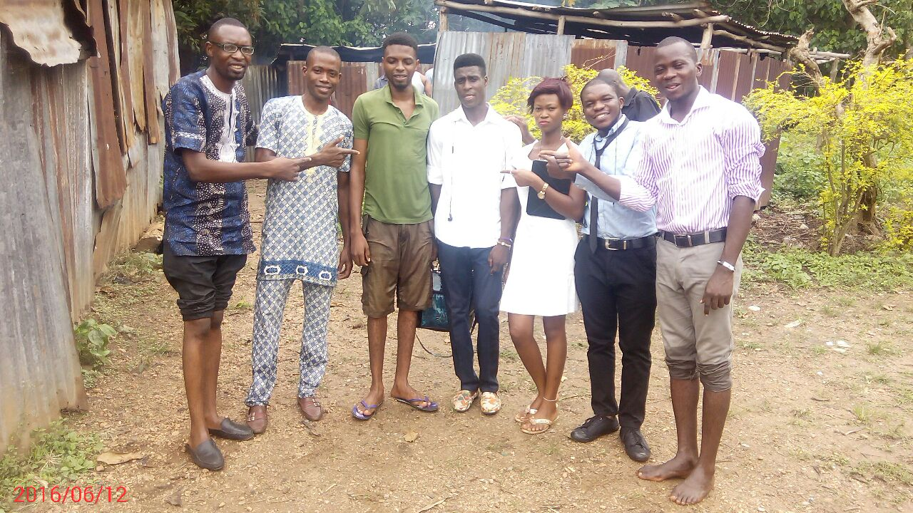 Baptism: Ehindola Odunayo Gets Baptized in Ibadan Church