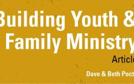 Article: Building a Youth & Family Ministry