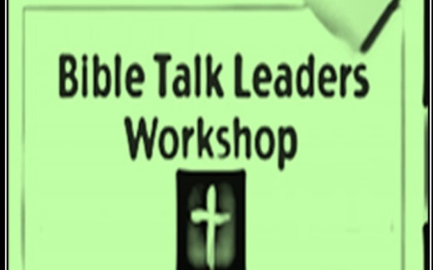 BIBLE TALK LEADERS/MTA WORKSHOP IN LAGOS