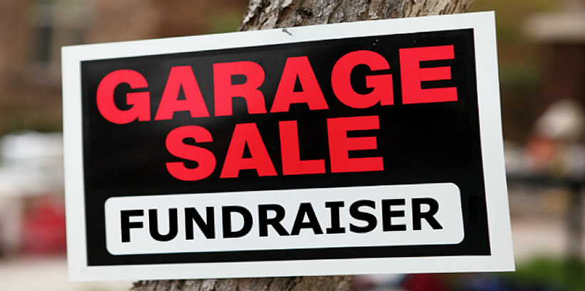 Give To Save – A Garage Sales Initiative
