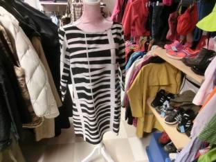Vero Moda, Svart, vit klänning, S, 65 kr