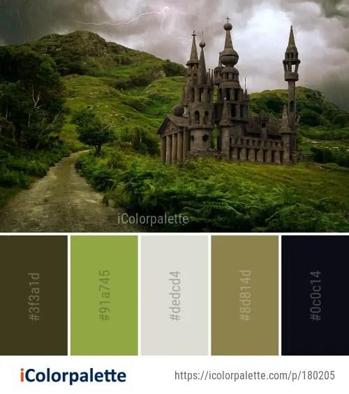 Color Palette ideas from 30 Castle Images   iColorpalette