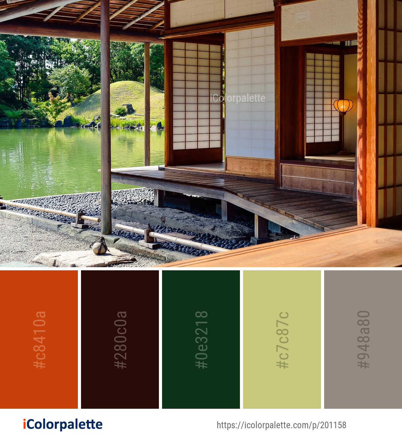 1 Deck Color Palette Ideas In 2020 Icolorpalette