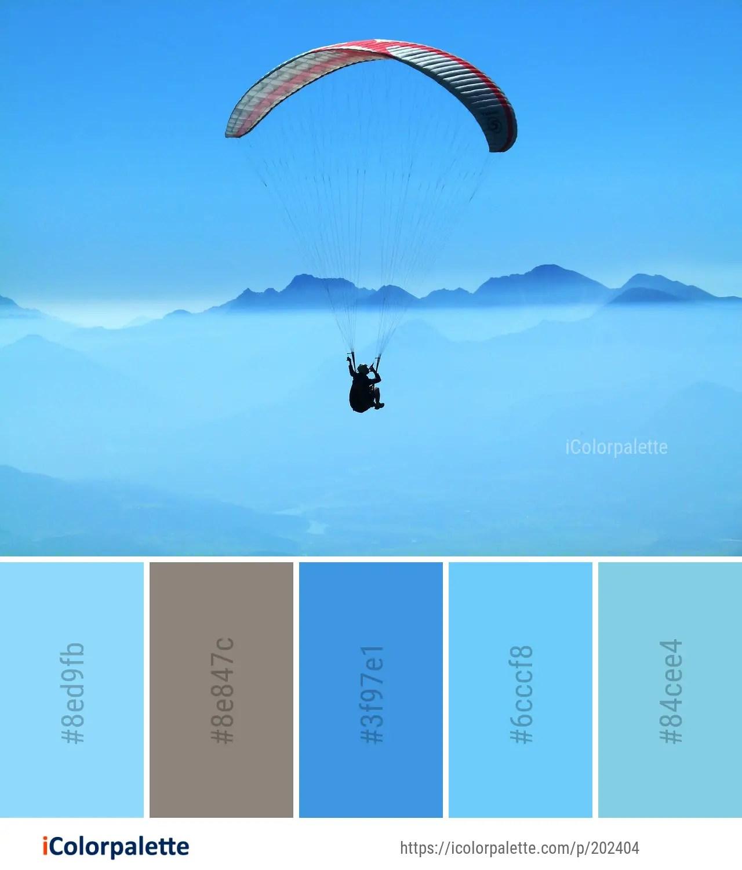 Air Color Palette : color, palette, Parachute, Color, Palette, Ideas, IColorpalette