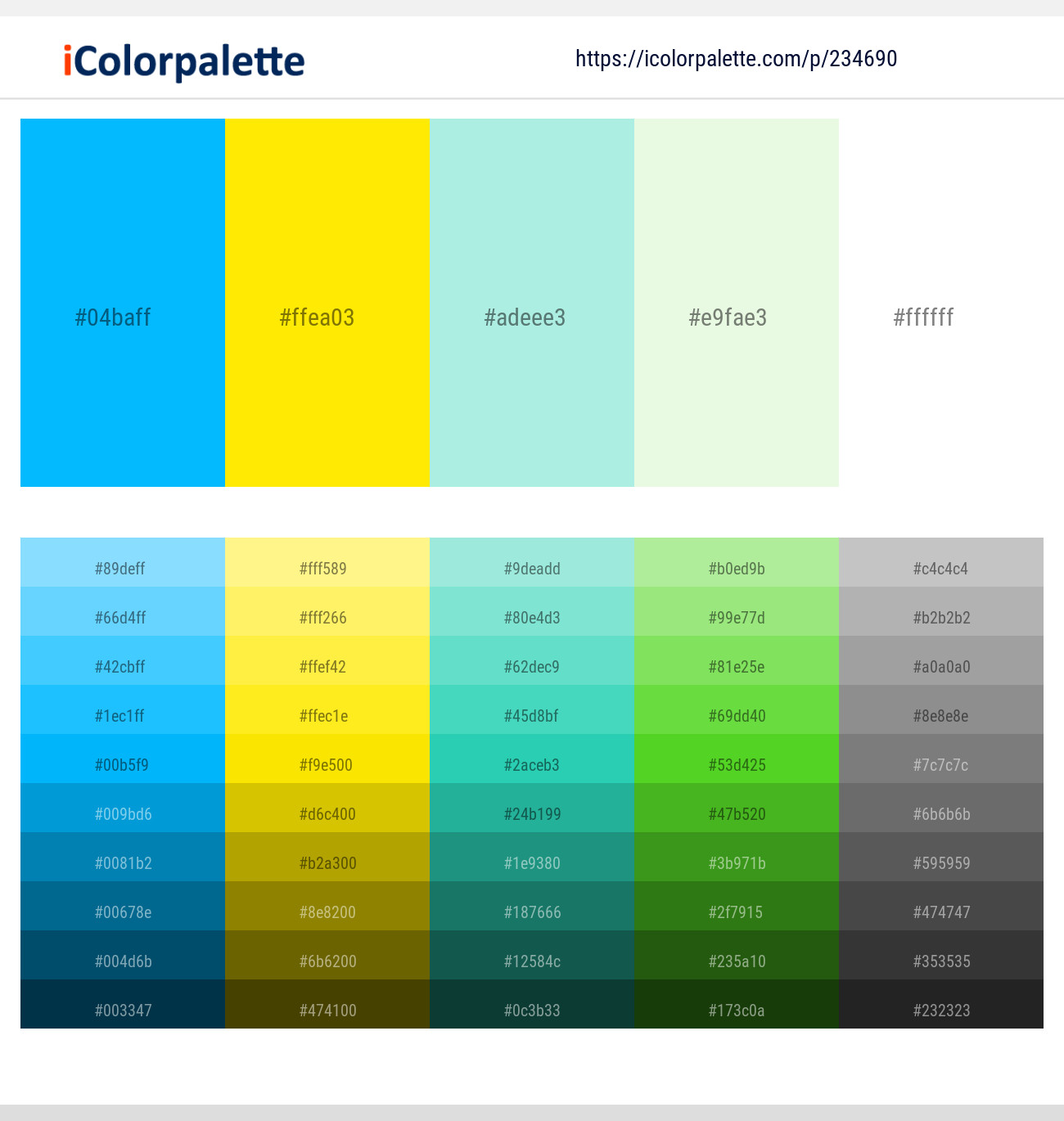 7 Color Palettes With Deep Sky Blue And Gold Color In 2019
