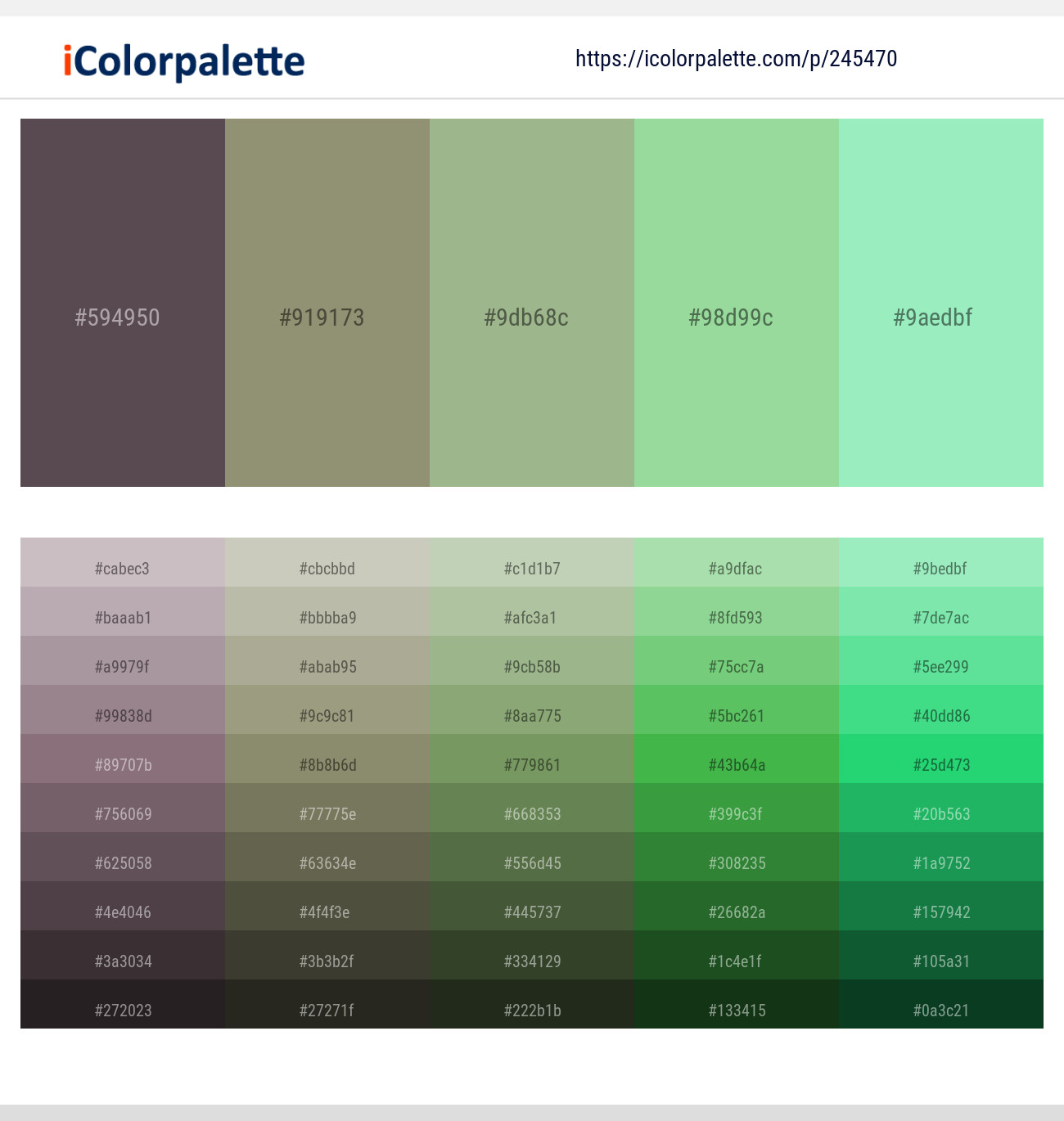 94 Color Palettes With Magic Mint Color In 2019 Icolorpalette