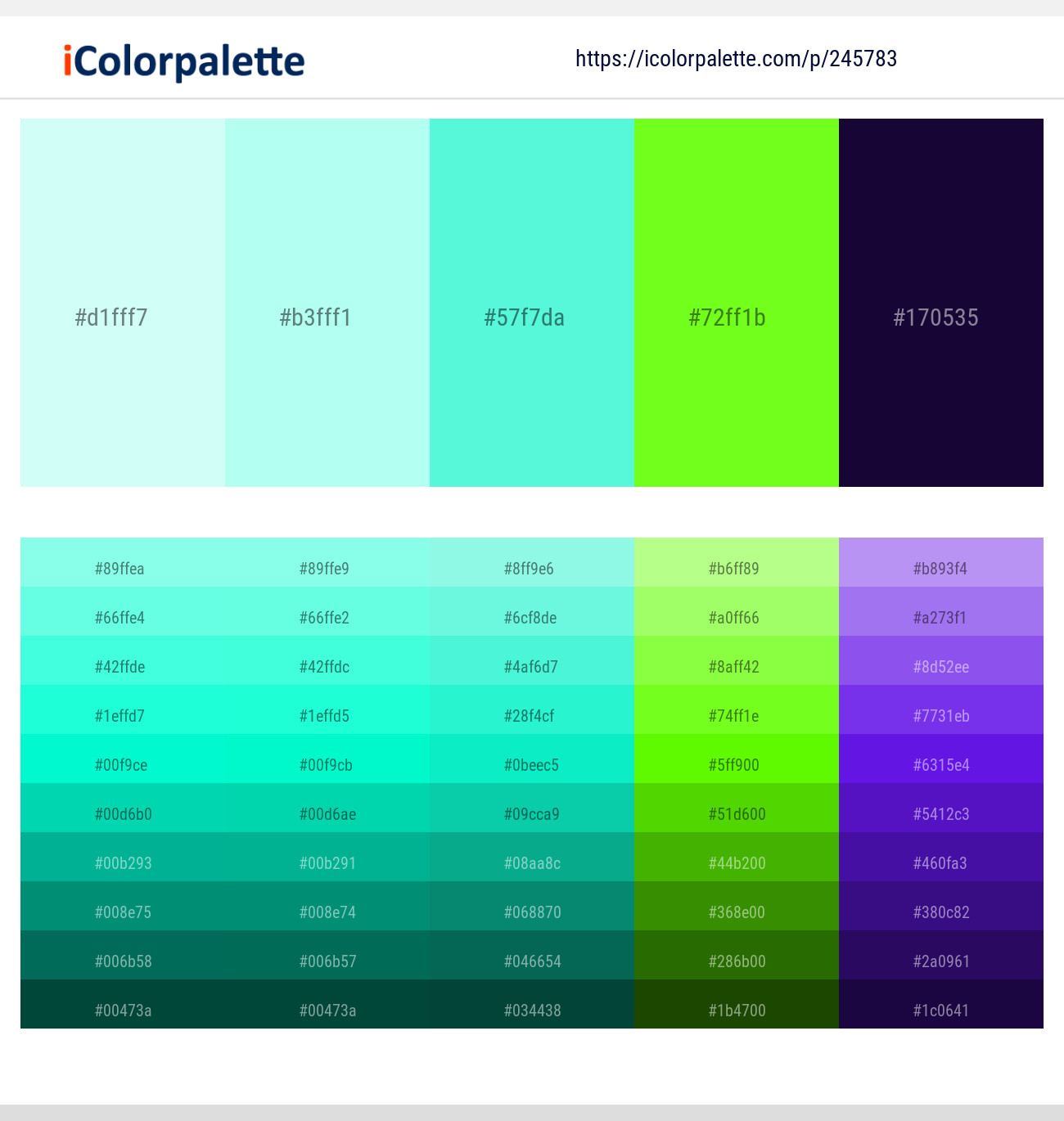42 Color Palettes With Frosted Mint Color In 2019 Icolorpalette