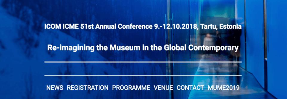 Conferência Anual do ICME – Tartu, Estónia