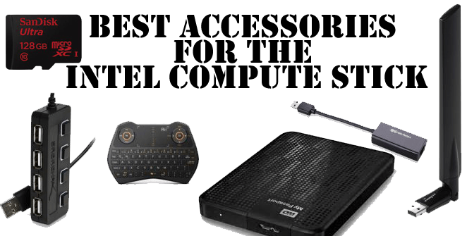 best accessories for intel compute stick