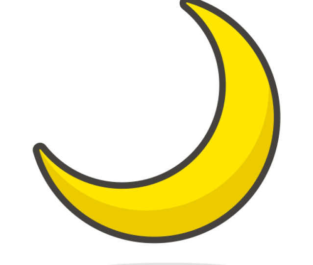 Bulan Sabit Bulan Gratis Ikon Dari  Free Vector Emoji