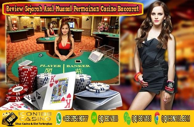 Review Sejarah Asal Muasal Permainan Casino Baccarat