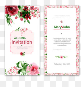 wedding invitations png deer wedding
