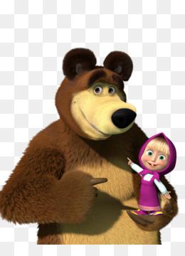 Masha And The Bear Png And Psd Free Download Masha And