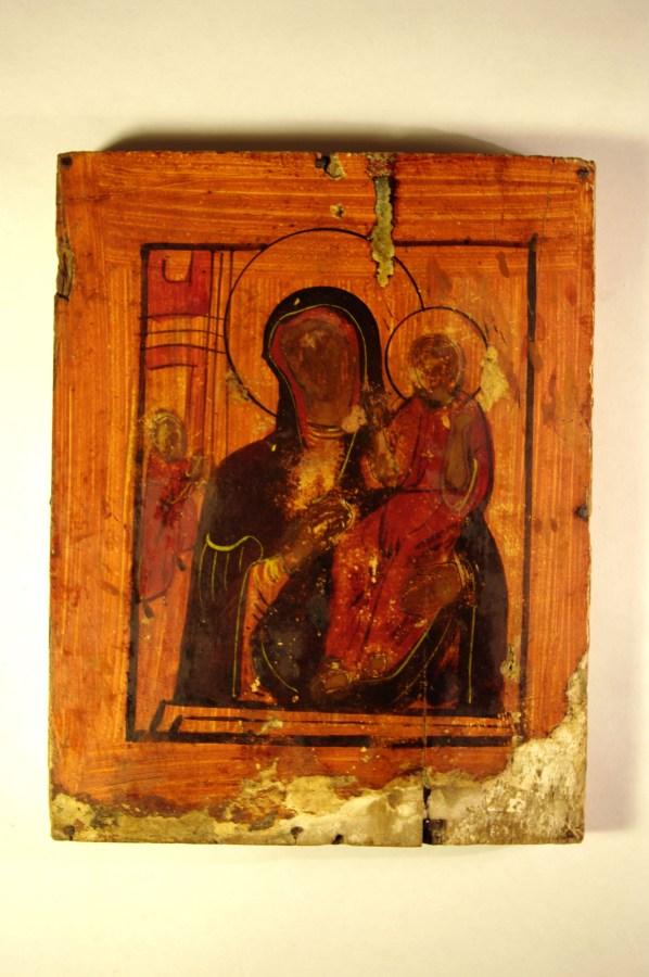 Образ Божией Матери Смоленский после реставрации