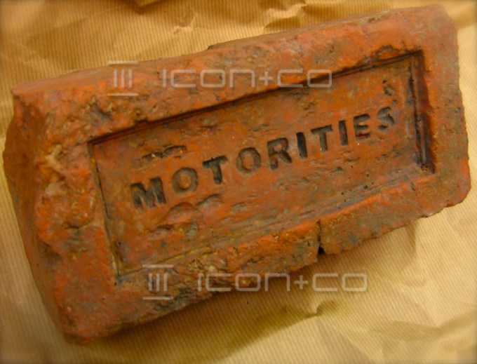 Corporate Promotional Events Marketing Props, faux, fake, house brick, motorities, dunhill, vintage, traditional, plaster, pretend bricks