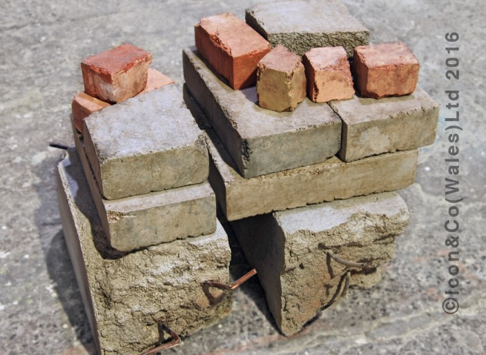 Poly fake pretend bricks blocks rubble urban city props movie propmakers photo studio lightweight concrete slabs photography backdrops artwork art scenic painters artist painting, faux stone for sale