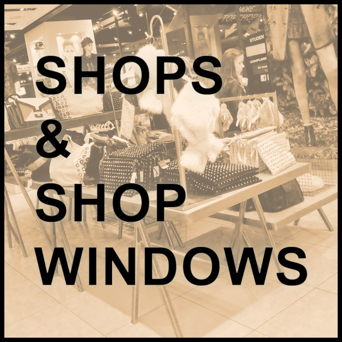 shop window display, retail props & furniture