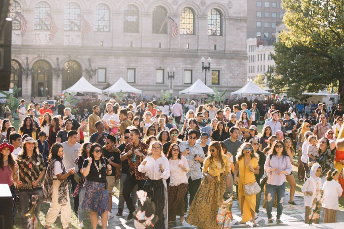 Thousands of People Flocked the New England Indonesian Festival 2019 in Boston to Experience the Traditional Culture of Indonesia