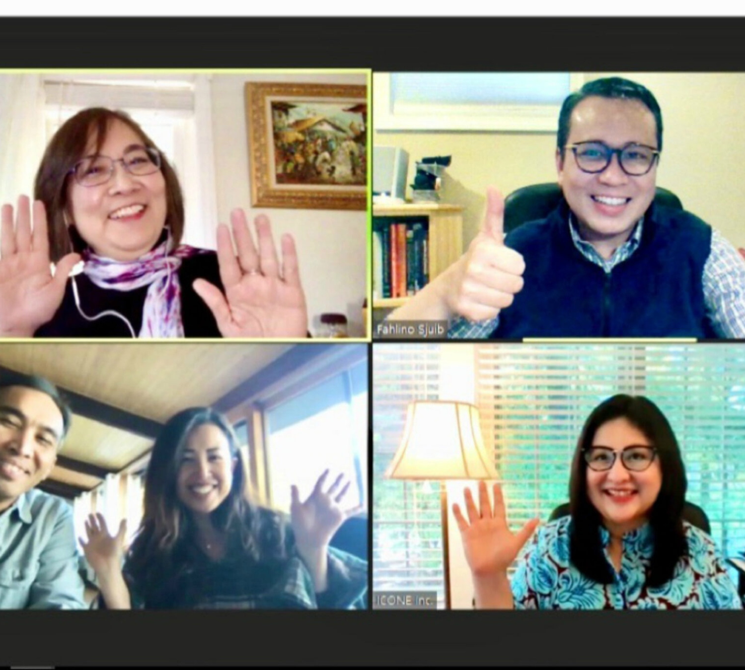 Zoom meeting (Oct 11, '20)
