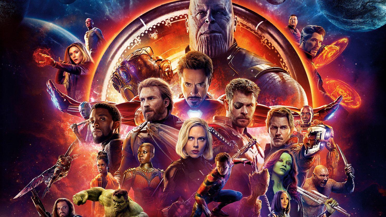 Resultado de imagem para Vingadores: Guerra Infinita (2018)