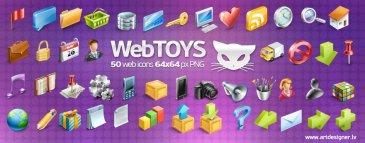 Webtoys icônes