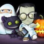 halloween icones set