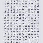 500 icones webdesign gratuites
