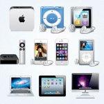 produits apple icones