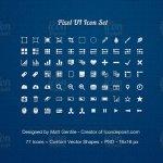 Pixel-UI-Icones-Set