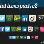 social pack d'icones gratuites à télécharger