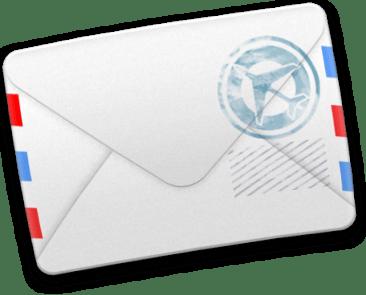 Icône lettre