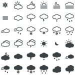 icones météo