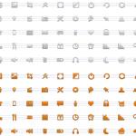 minimal vector icones