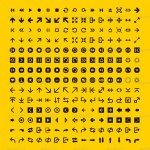100 icônes vectorielles