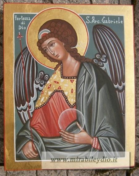 Icona S.Gabriele Arcangelo